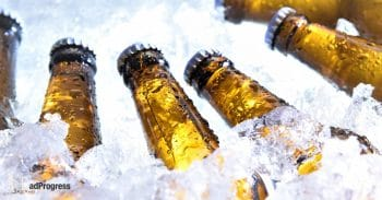 Beers in ice