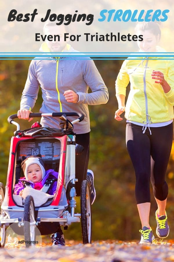 Is a workout with a jogging stroller worth it? Click to read what triathletes think of Bob running strollers and find the best jogging stroller for your baby!