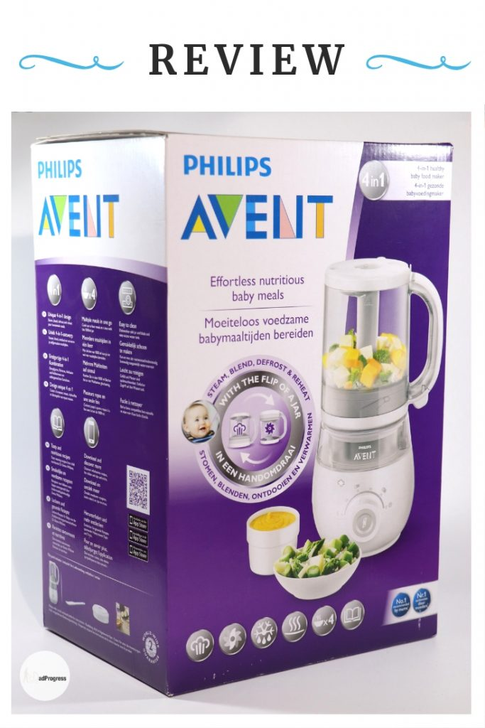Philips Avent steamer (food maker 4-in-1) review after one year of use. #philips_avent #dadprogress