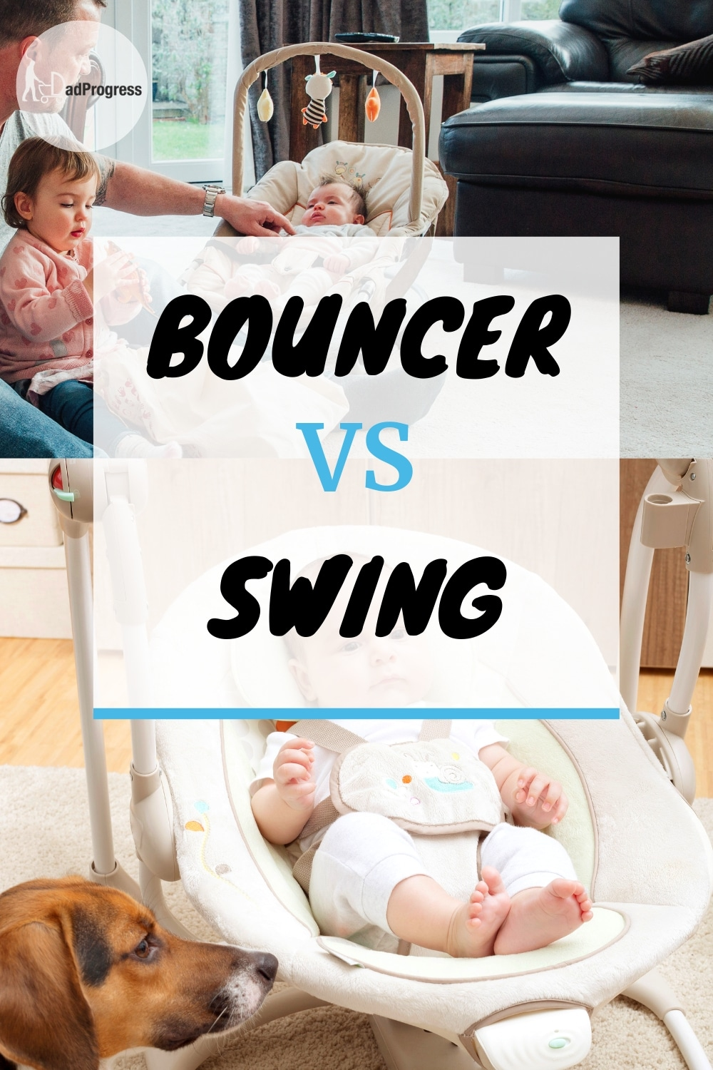 Should you buy the best baby swing or bouncer for your newborn? They are different, but maybe you don't need to buy both of them. Click to read my guide to learn the pros and cons