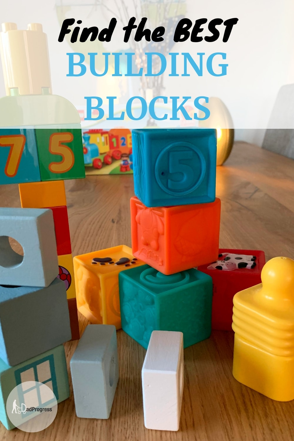 Building blocks are perfect for kids to design castles, houses and get creative ideas. They are also great learning toys for toddlers and babies alike. If you're searching for gift ideas, then check out my buying guide with some suggestions