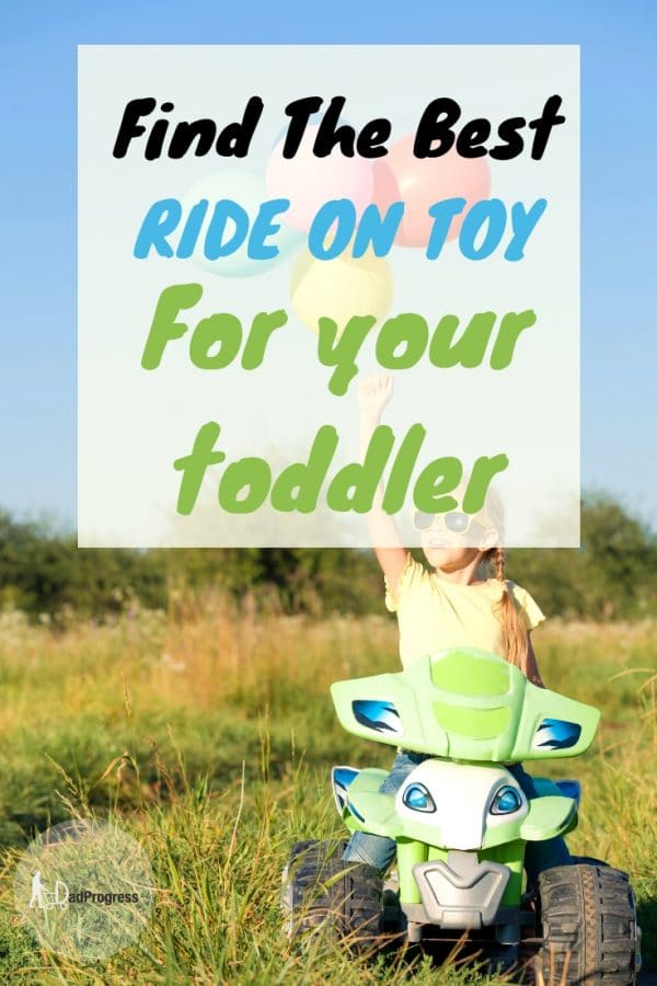 If you are looking for a ride on toy for a toddler (girl or boy), then click to read my post about the best ride on toys for 2-year-olds. Many of the reviewed products are battery powered, quite advanced and very good also for older kids.