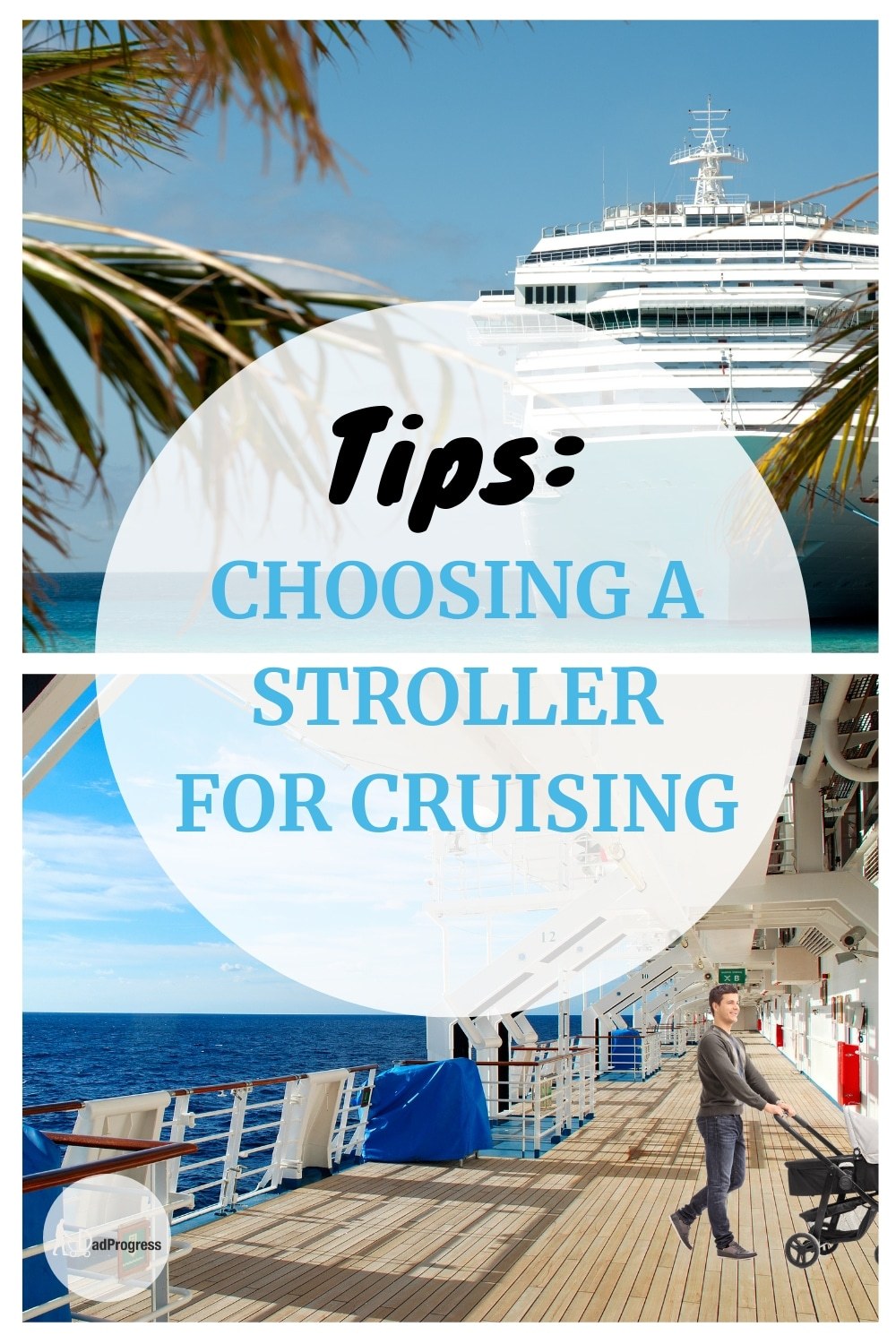 If you're looking for toddler cruise tips, then check out my guide on best strollers for family travel when going on a cruise vacation. The stroller should be easily to fold and lightweight, but there're more:)