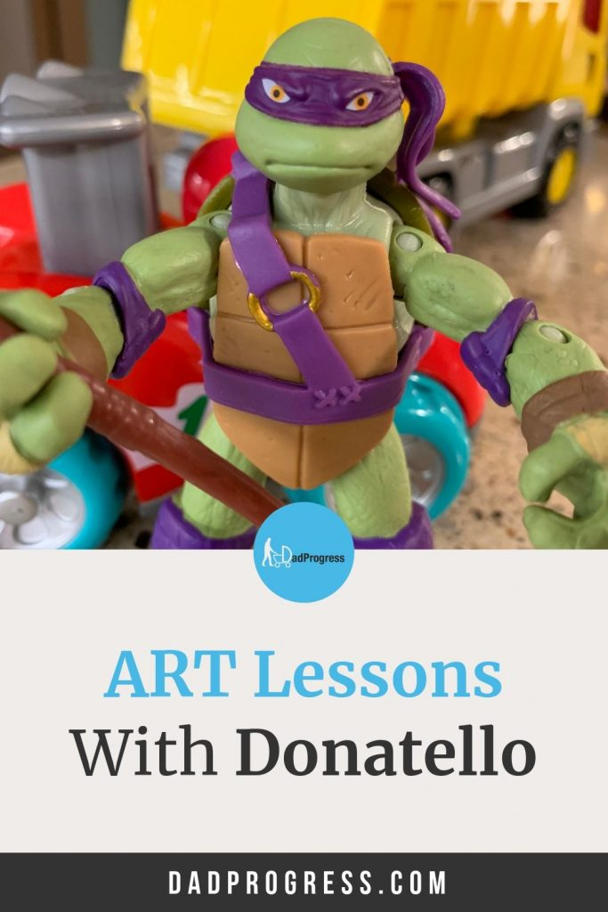 Ninja turtle Donatello and other turtles can teach your kids the names of four great Renaissance master. Click to read more