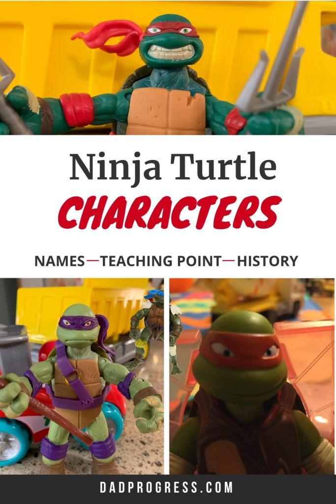 Ninja Turtles Names And What To Learn From Them