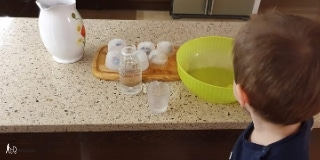 Ice Cube Activity For Toddlers on a table