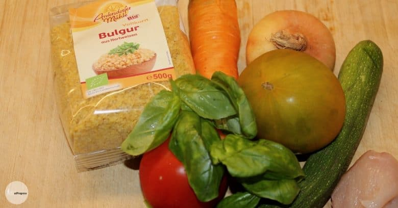 Puree With Chicken 2 Ingredients