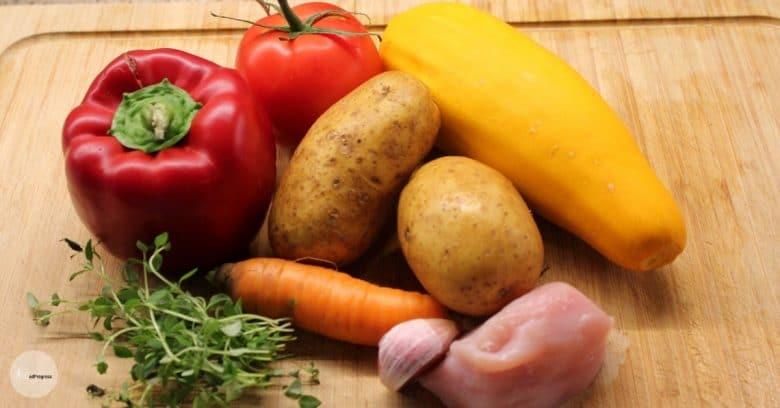 Puree With Chicken Ingredient