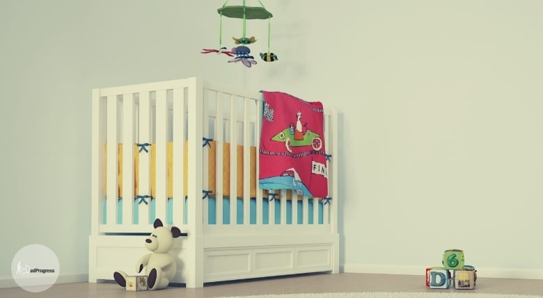 Pack n play vs crib article example of a white crib in the nursery