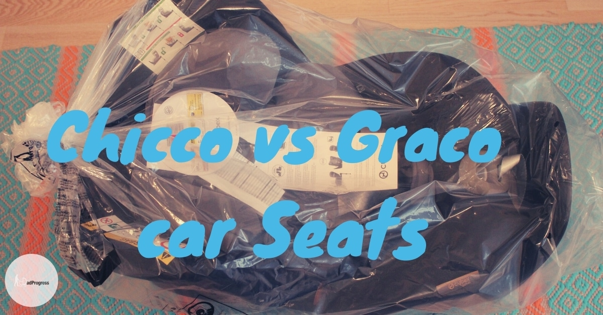 Chicco vs Graco car seats featured image- new car seat on a floor